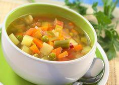 Sopa de Legumes Emagrecedora.