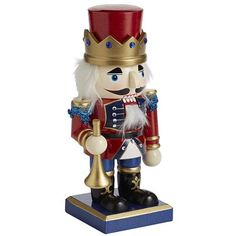 Christmas Holiday Home Decor - Soldier Band Nutcracker   Get paid up to 8.6% Cashback when you shop at Pier 1 with your DubLi membership. Not a member? Sign up for FREE at www.downrightdealz.net