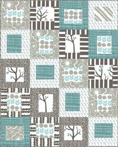 Quilt recurring blocks here feature branches, could sub Anything. Recurring makes it feel connected.