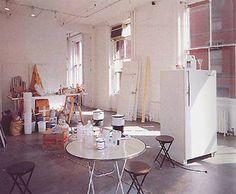Rirkrit Tiravanija, Untitled (Free), 1992. Installation 303 Gallery, New York.