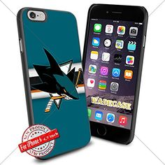 San Jo Sharks Logo WADE7437 NHL iPhone 6 4.7 inch Case Protection Black Rubber Cover Protector WADE CASE http://www.amazon.com/dp/B015AJX2RS/ref=cm_sw_r_pi_dp_rQjpwb09A2AD4