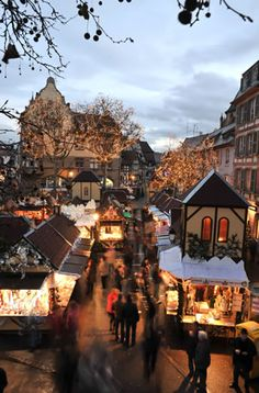 Le Marché de Noël de #Colmar - #Alsace