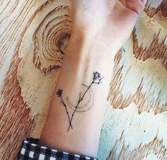 cute tiny tattoo