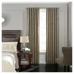 BeautyRest, Curtain Panels  Tan Damask