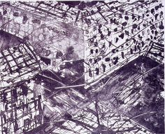 Thick Air II 2003 - Lithography Edition of 20 51 x 58 cm. (paper) 38 x 47 cm. (stone)