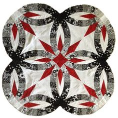 Bali Wedding Star 4-Patch, Quiltworx.com by Certified Instructor, Denise Green