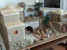 it forum topic. Christmas Nativity Scene, Christmas Villages, Noel Christmas, All Things Christmas, Handmade Christmas, Diy Christmas Village Accessories, Christmas Decorations, Putz Houses, Fairy Houses