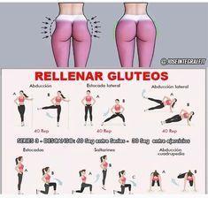 운동 Esercizi Fianchi 엉덩이 운동 -엉덩이 운동 Esercizi Fianchi 엉덩이 운동 - Back Fat Burning Workout Fitness Workouts, Gym Workout Tips, Fitness Workout For Women, Hip Workout, Easy Workouts, Yoga Fitness, At Home Workouts, Fitness Tips, Fitness Motivation