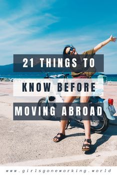 Ready to move abroad but don't know where to begin? Get this guide to the 21 things I wish I knew before I moved abroad 7 years ago! Here's some tips to things I've learned while living abroad that are sure to start you off on the right foot. Best Places To Retire, Best Places To Travel, Things To Know, How To Memorize Things, 21 Things, Reading City, Work Abroad, France Travel, What Is Like