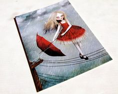 Things for Less than $20 that Can Make Flying Suck Less ACEO/ATC Mini Fine Art Print Livewire Artist Trading by solocosmo, $3.00