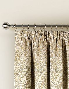 Trezo Damask Curtains | M&S