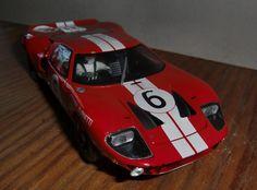 Ford GT 40 Le Mans 1965 Herbert Müller Fly Car Models A186