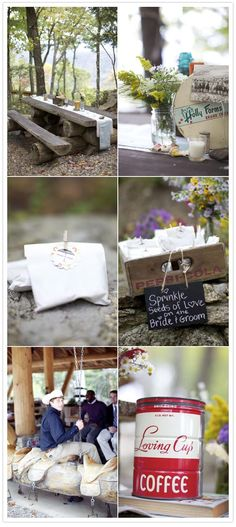 North Carolina Mountain wedding | http://www.100layercake.com/blog/2012/01/30/north-carolina-mountain-wedding-morgan-david/