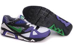 318088 132 Nike Air Structure Triax 91 White Lucky Green Grmn Blue Black AMFM0235