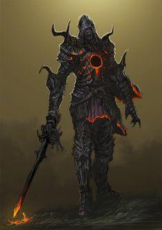 Dark Fantasy, Fantasy Art, Soul Saga, Medieval, Bloodborne Art, Dark Souls Art, Darkest Dungeon, Knight Armor, Cute Characters