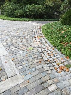 Image result for permeable driveways to sidewalk transition