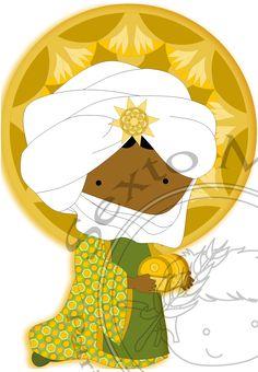 Reyes Magos - Baltasar