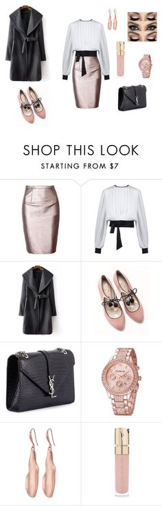 """FORMAL OUTFIT"" by margagarciaruano on Polyvore featuring moda, Boden, Yves Saint Laurent, Robert Lee Morris y Smith & Cult"