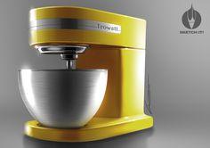 Sketch-It! by L.Trovati....TROWATT Stand Mixer