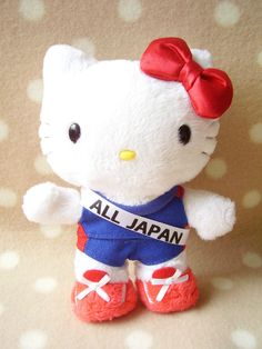 wrestling Hello Kitty