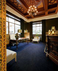Hotel Infante Sagres, Porto #luxuryfurniture #interiordesign #bedroomsets #contemporaryfurniture @bocadolobo summer time