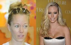 celebs without makeup before and after | Celebrities Before and After Makeup (51 pics)