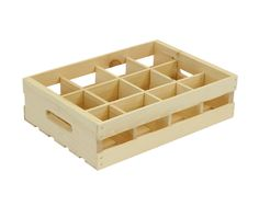 12-Grid Crate Insert by Crates & Pallet