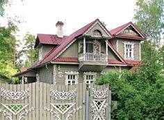 Дом, дача в русском стиле