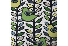 Oslo Hemlock Cotton Fabric, Multi on OneKingsLane.com