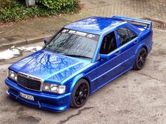 Mercedes-Benz W201 190E EVO 1 | BENZTUNING | Performance and Style
