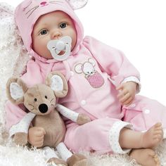 Realistic Handmade Soft Bodied Baby Doll Girl by ParadiseGalleries