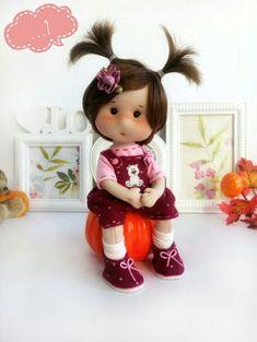 Christmas Scenery, Barbie, Doll Tutorial, Bird Drawings, Soft Dolls, Diy Doll, Fabric Dolls, Crafts To Make, Baby Dolls