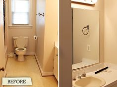 Before & After: Greg & Ashley's Bathroom Gut Rehab 7th House on the Left | Apartment Therapy