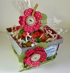 Debbie's Designs: Berry Baskets by my Team!
