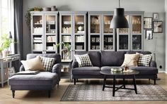 stocksund sofa and loveseat ideas - Google Search