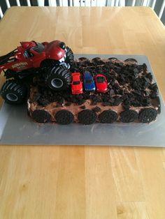 monster truck cake Google Search Trucking Pinterest Truck