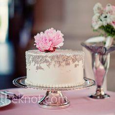 Pink Peony Cake