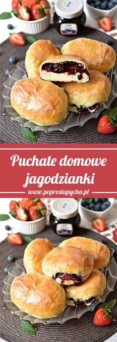 My Favorite Food, Favorite Recipes, Polish Recipes, Desert Recipes, Summer Recipes, Baked Goods, Deserts, Good Food, Food And Drink