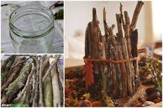 Statt billiger Plastikdeko lassen sich aus Naturmateralien wunderschöne Dekorationen für Haus und Garten basteln. Hier findest du ein paar schöne Anregungen
