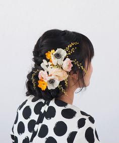 Floral Updo