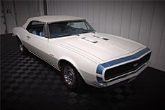 1967 Camaro, Chevrolet Camaro, Convertible, Barrett Jackson Auction, Older Models, Impala, Cadillac, Muscle Cars, Man Cave