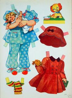 1950's Anne A Paper Doll.I This From Ebay - MaryAnn - Picasa Web Albums