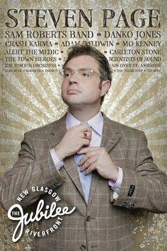 Steven Page Steven Page, Barenaked Ladies, Orchestra, Medical, Hero, Lady, Music, Books, Musica