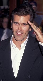 A lovely young Bruce Campbell (just spotted he's wearing a wedding ring!)
