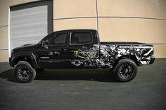 Monster truck wrap