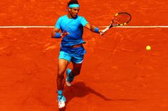 Roland Garros 2015 R2 - Rafael Nadal def. Nicolas Almagro 6-4 6-3 6-1 servevolley