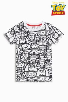 Buy White Short Sleeve Toy Story T-Shirt (3mths-6yrs) online today at Next: Australia