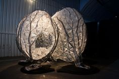 """Jätteet – """"The architectural skin of the pavilion is an improbable assemblage of 'urban trash'"""""""