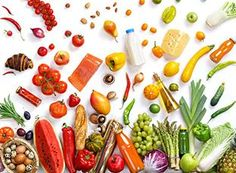Healthy eating background / studio photography of different fruits and vegetables isoleted on white backdrop, top view. Super Healthy Recipes, Healthy Foods To Eat, Diet Recipes, Healthy Eating, Healthy Teeth, Diet Tips, Healthy Life, Dinner Recipes For Kids, Kids Meals