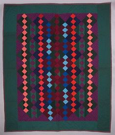 Nine patch quilt, University of Alberta collection